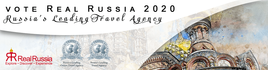 Real Russia nominated at the 2020 World Travel Awards