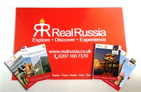 Real Russia Tours Brochures!