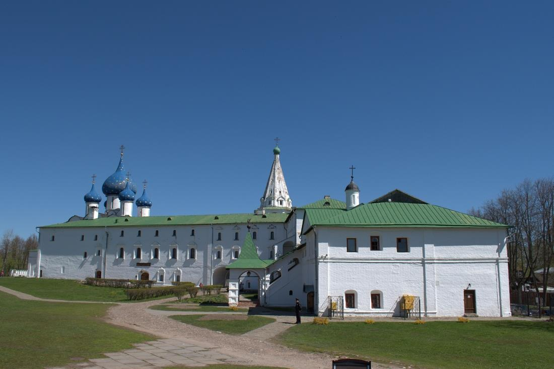 The Suzdal Kremlin, the oldest part of the town of Suzdal