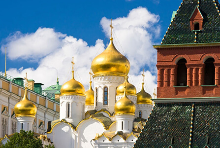 Moscow Kremlin and Cathedrals