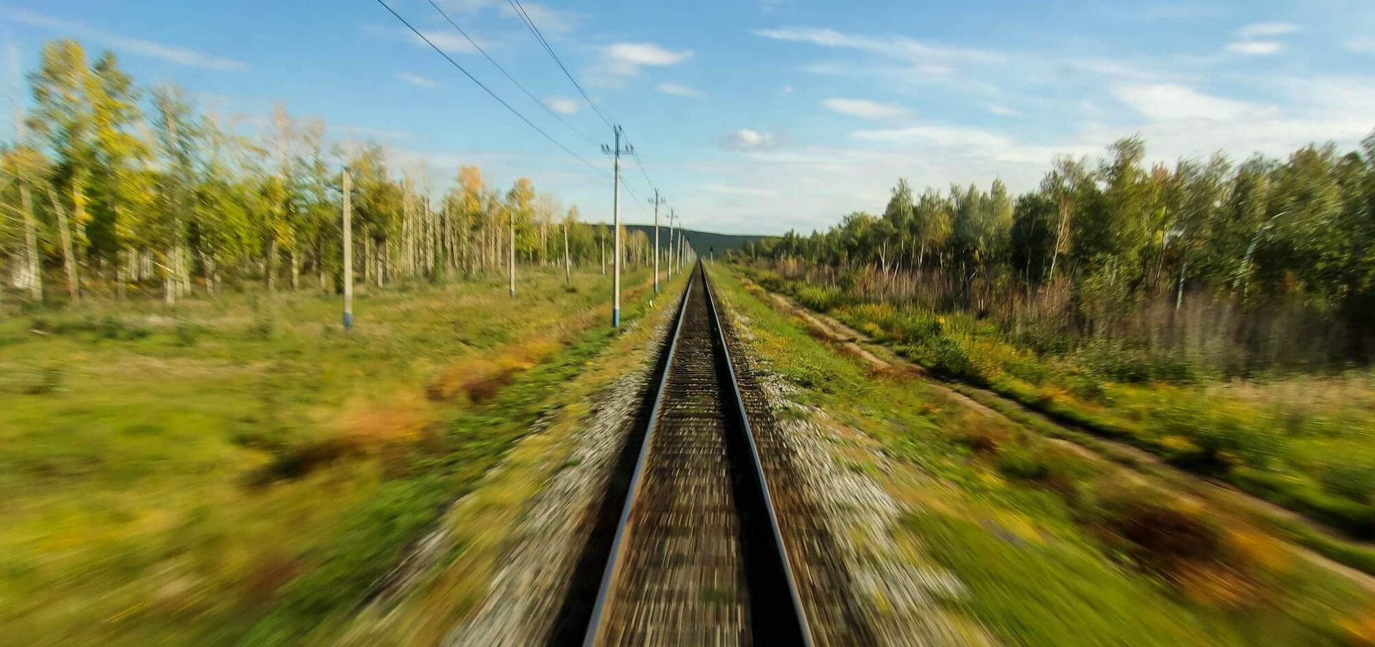 The world rushes by on a Trans-Siberian adventure