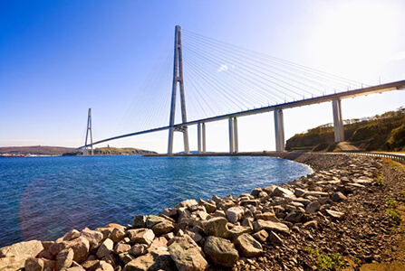 Bridge in Vladivostok
