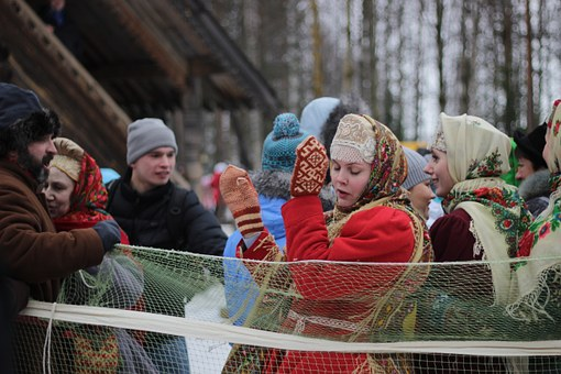 Maslenitsa celebrations, Russia