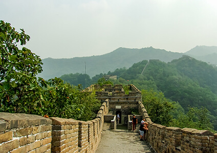 Views from the Great Wall of China