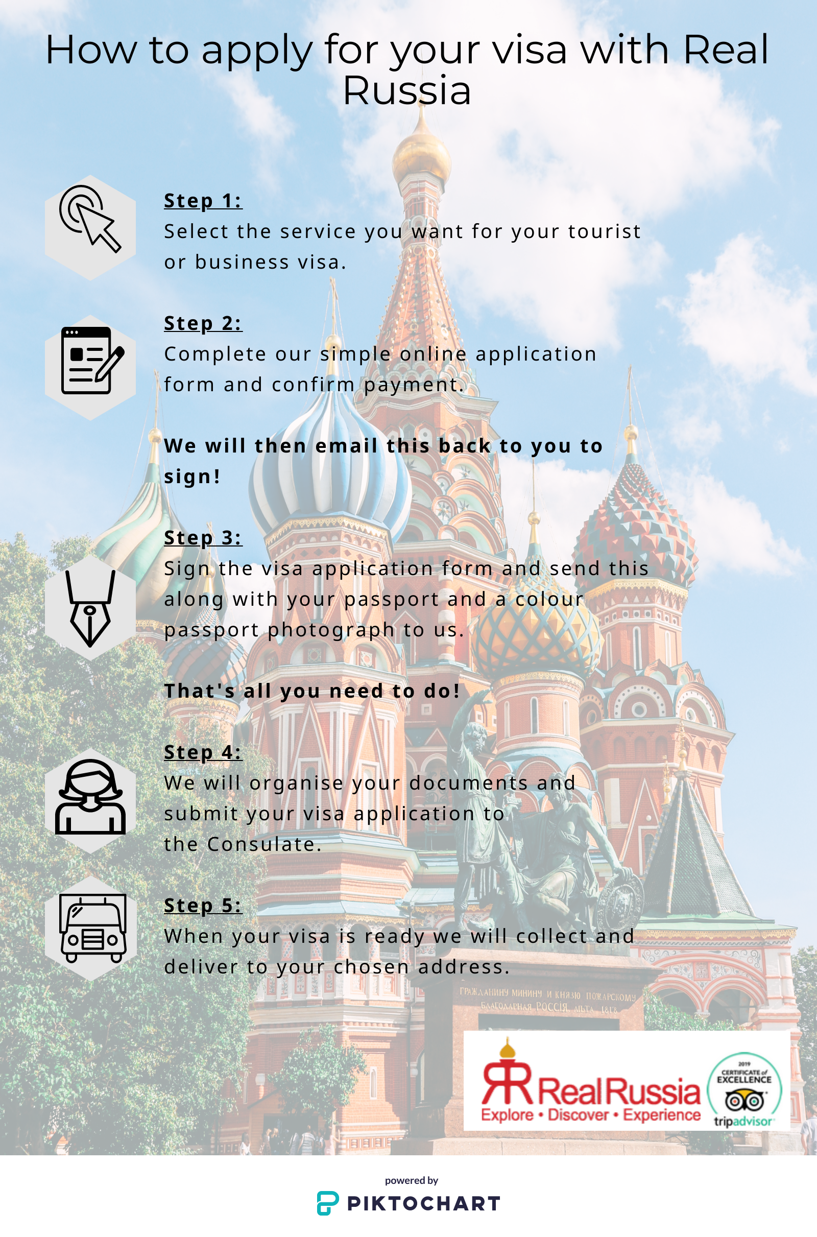 Visa Services for Russia | Mongolia | China | Central Asia | Real Russia