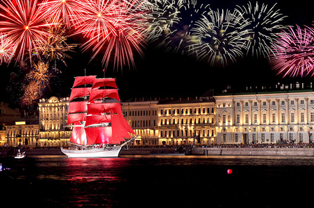 White Nights Festival and Scarlet Sails