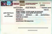 How to Read a Russian Visa | Real Russia