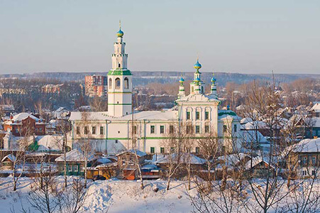City View of Perm, Russia