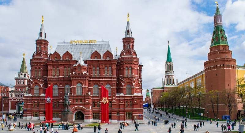 The Kremlin and Red Square, Moscow, Russia