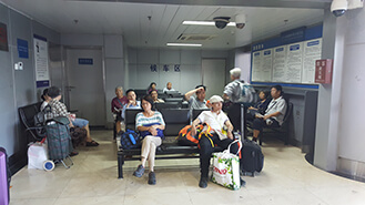 Beijing Train Station Waiting Area