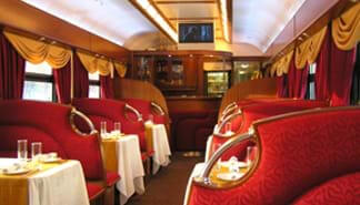 Grand Express Train Restaurant Carriage