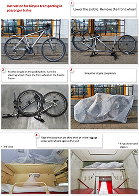 How to Store your Bike on a Russian Train