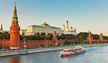 Moscow boat cruise