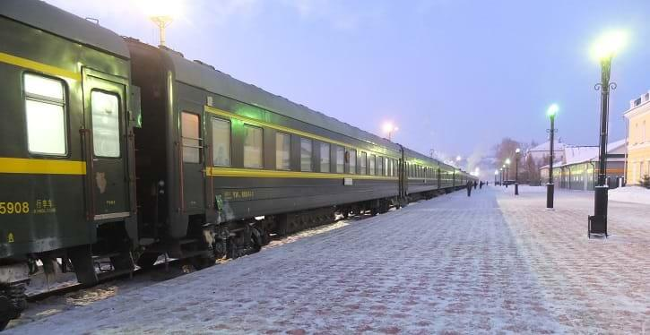 Train 3 / 4 Trans-Mongolian Railway