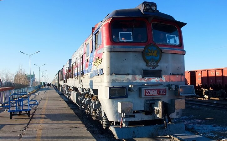 Trans-Mongolian Railway Train